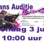 auditie 3 juli